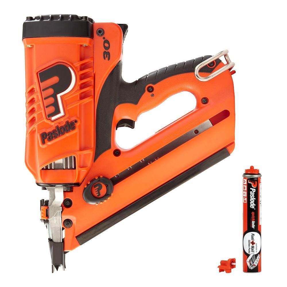 Paslode CF325 Lithium-Ion Cordless Framing Nailer Combo with Free ...
