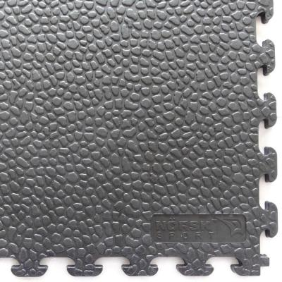 Rhino-Tec 18.3 in. x 18.3 in. Dove Gray PVC Sport and Gym Flooring Tile (6-Pieces)