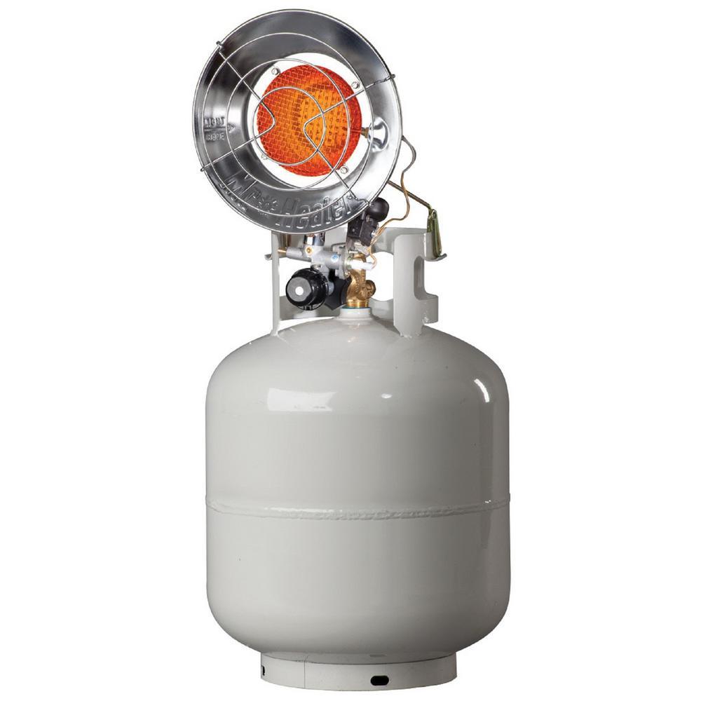 Propane Radiant Heater >> Mr Heater 15 000 Btu Single Tank Top Radiant Heater Mh15t The