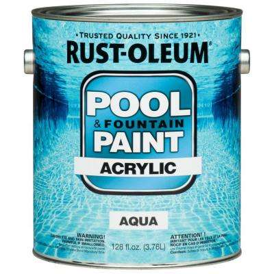 1 gal. Aqua Acrylic Pool and Fountain Paint (Case of 2)