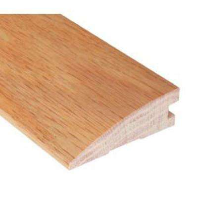 Unfinished Oak 1/2 in. Thick x 1-3/4 in. Wide x 78 in. Length Hardwood Flush-Mount Reducer Molding