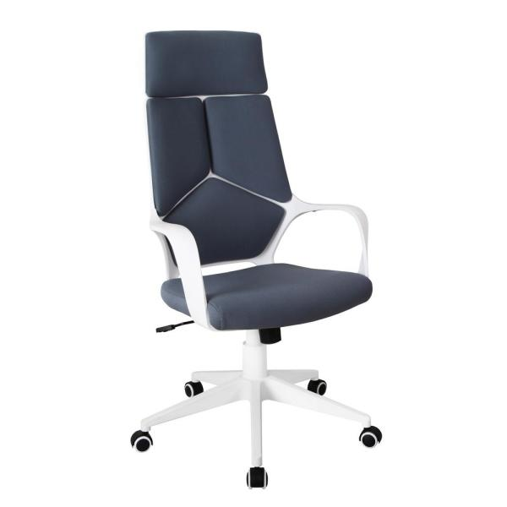 Grey/White Modern Studio Office Chair