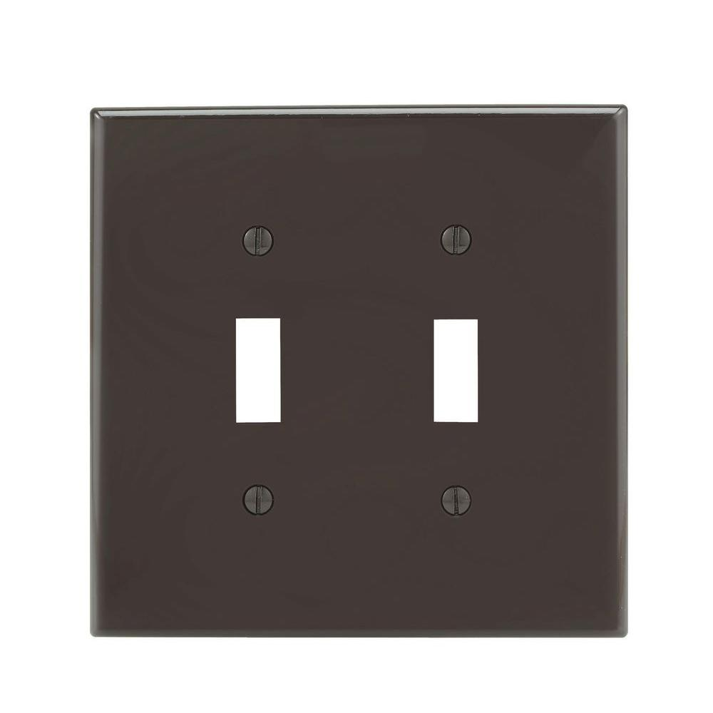 Black Wall Socket Covers Fair Leviton Decora 2Gang Midway Nylon Wall Plate Blackr55Pj26200E Inspiration