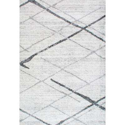 Thigpen Contemporary Gray 8 ft. x 10 ft. Area Rug