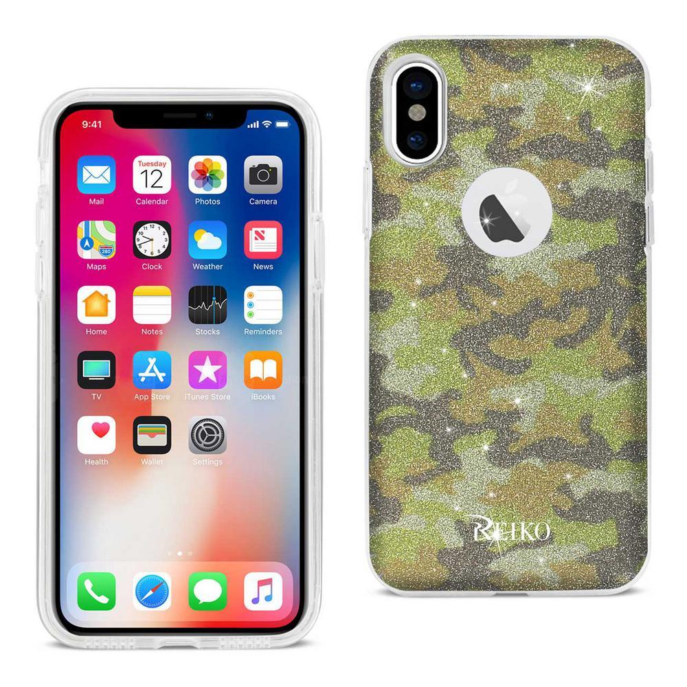 iPhone X Design Case in Yellow