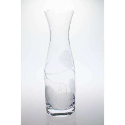 Aspen Leaf 34 oz. Clear Carafe