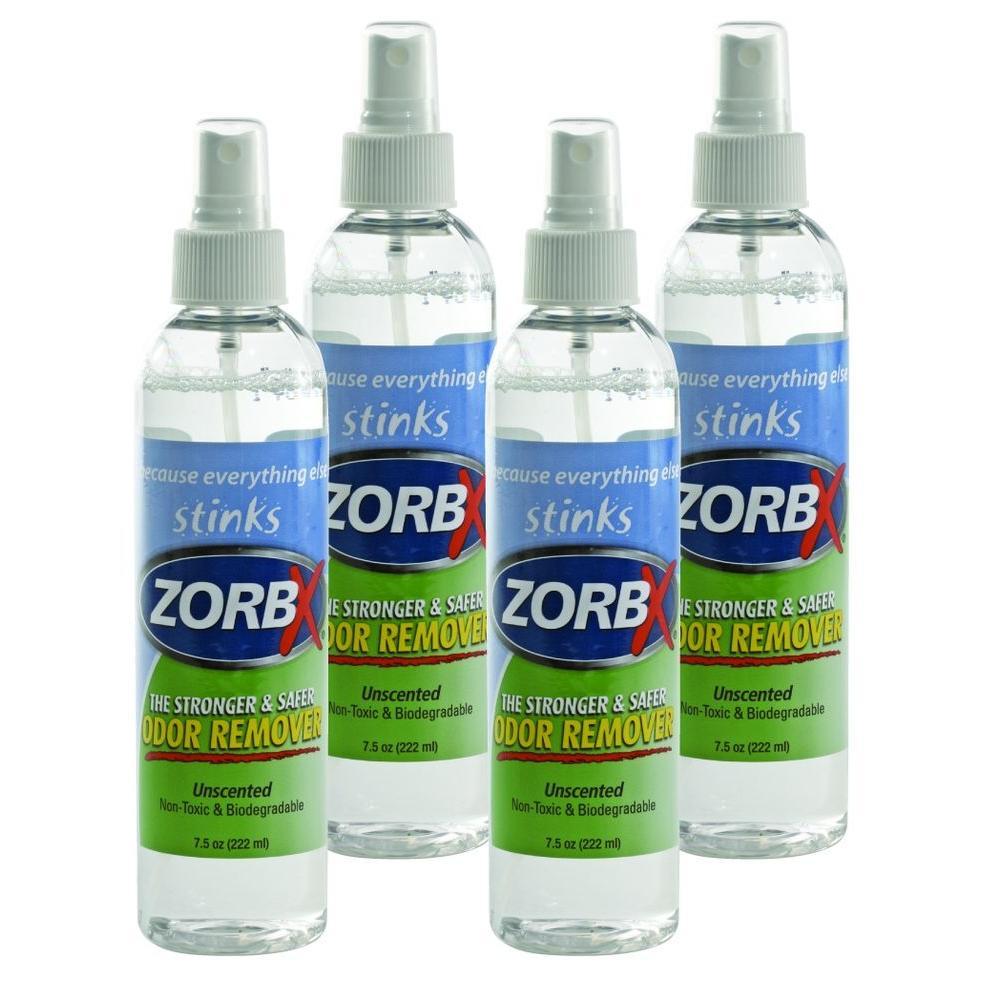 Zorbx 7.5 oz. Unscented Odor Remover (4-Pack)