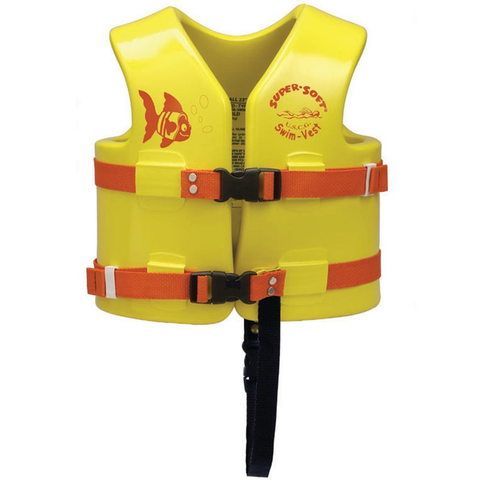 5cedd9ab96f United States Coast Guard Child's Super Soft Swim Vest - Small ...
