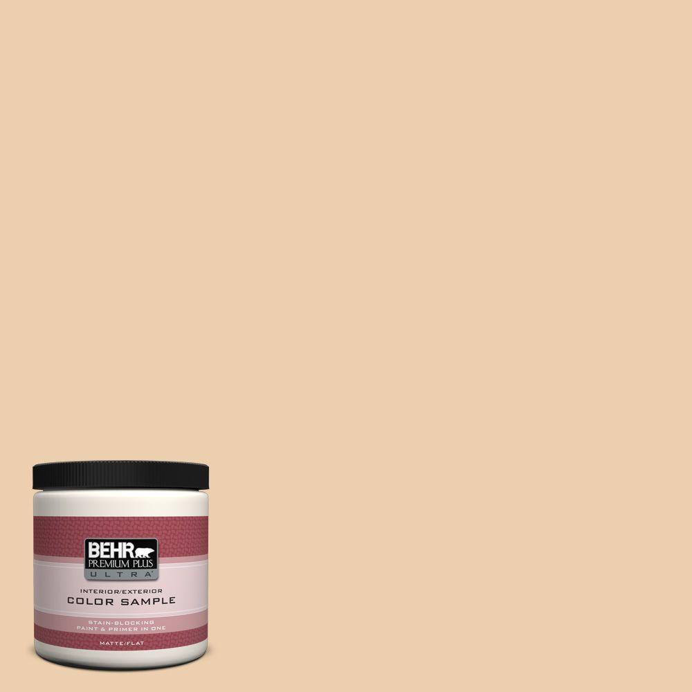 BEHR Premium Plus Ultra 8 oz. #S270-2 Chai Interior/Exterior Paint Sample