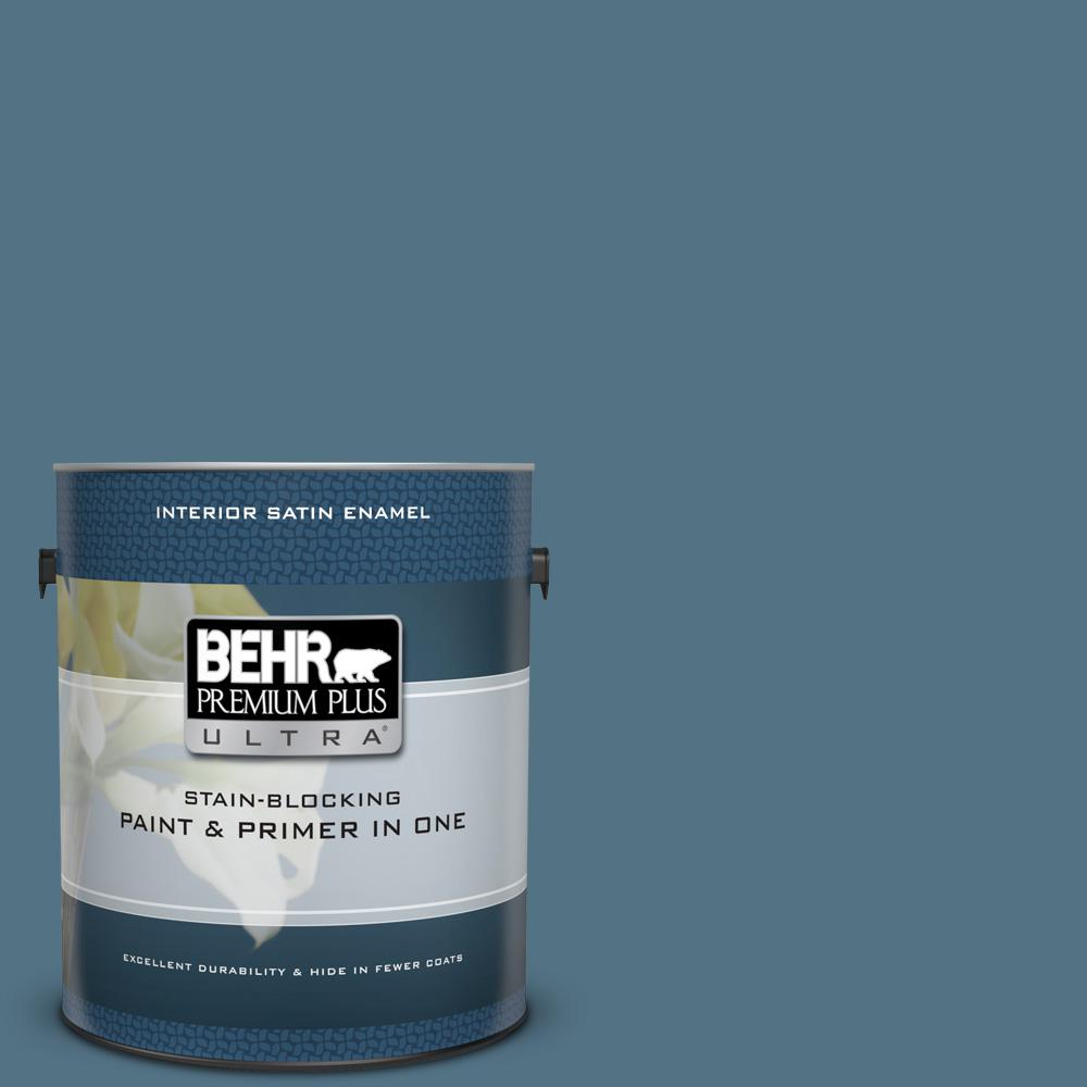 560f 6 Windsor Haze Satin Enamel Interior Paint And Primer In One