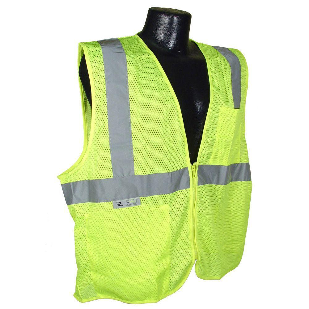 Fire Retardant green Mesh Large Safety Vest