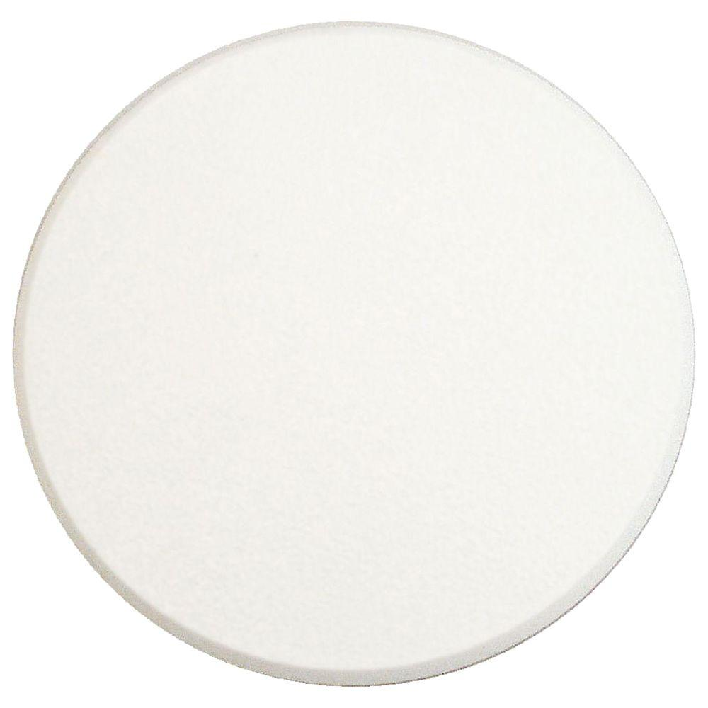 5 in. Smooth Self-Adhesive White Vinyl Wall Protector