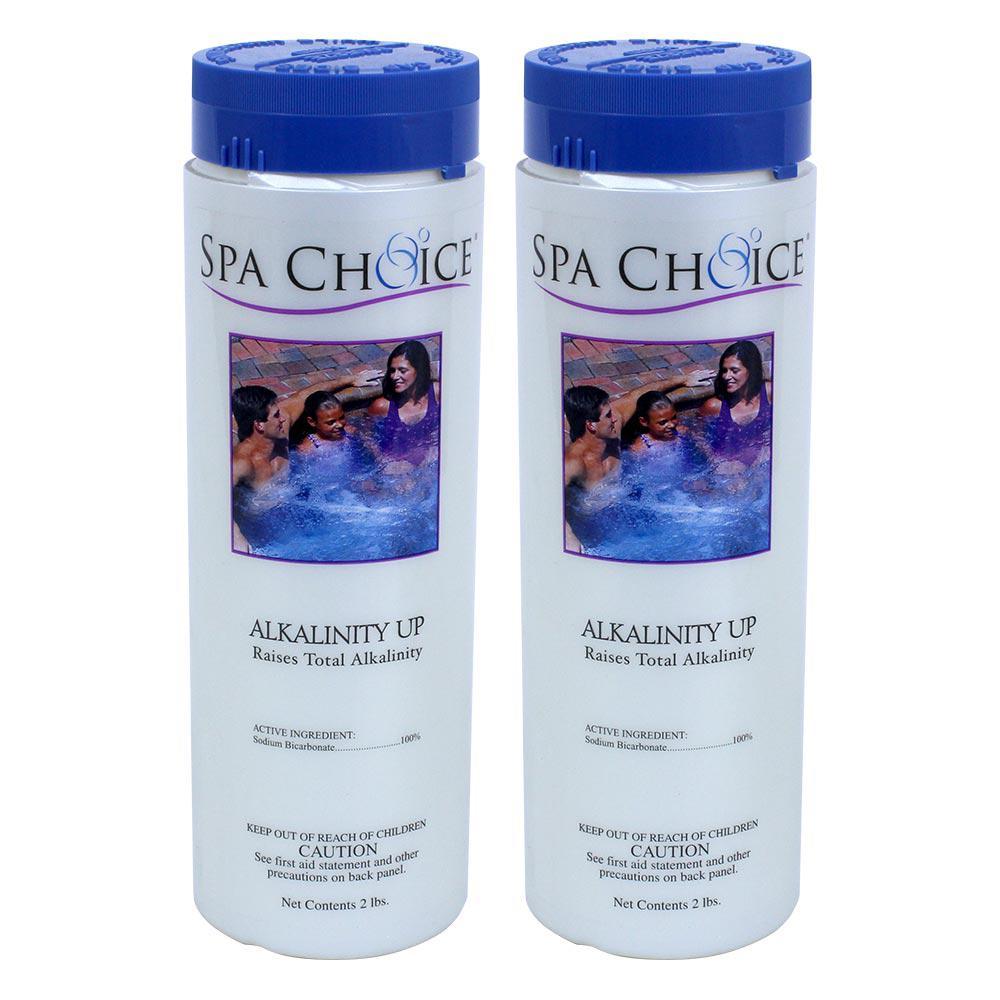 Spa Choice Spa and Hot Tub 2 lb. Alkalinity Up (2-Pack)