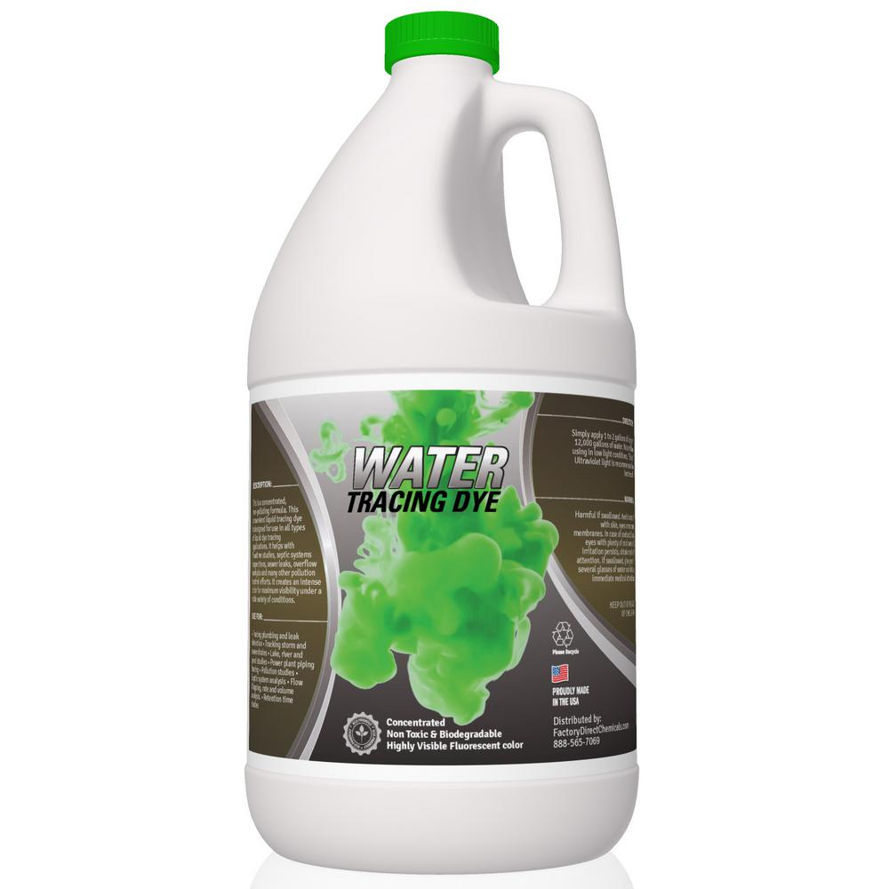 060dca56f741d2 Eco Clean 1 Gal. Green Water Tracing Dye-GREENDYE-1 - The Home Depot