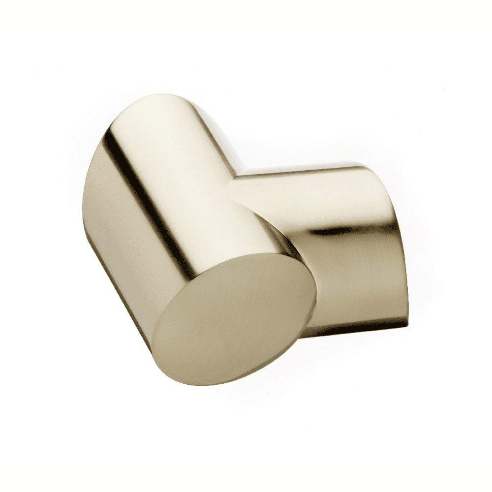 Gourmet Brushed Nickel Left-Hand Horizontal Turn Connector