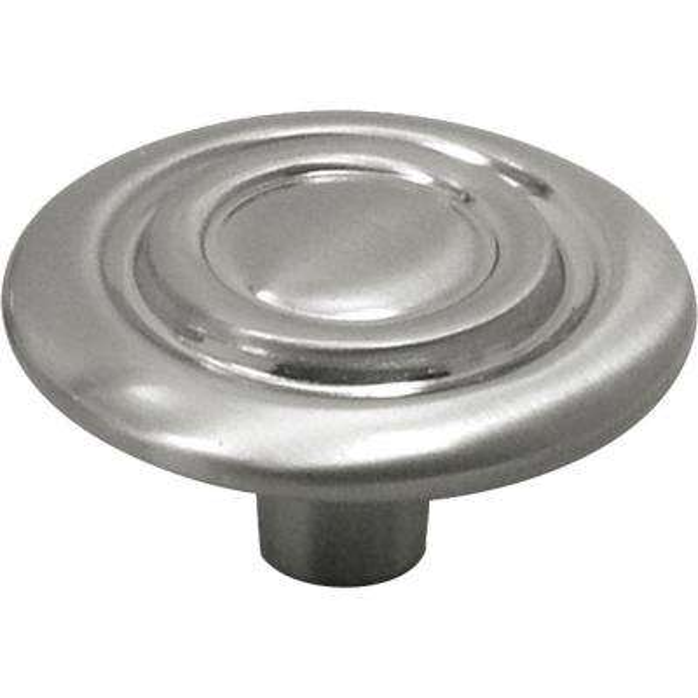 Cavalier 1-3/8 in. Satin Nickel Cabinet Knob