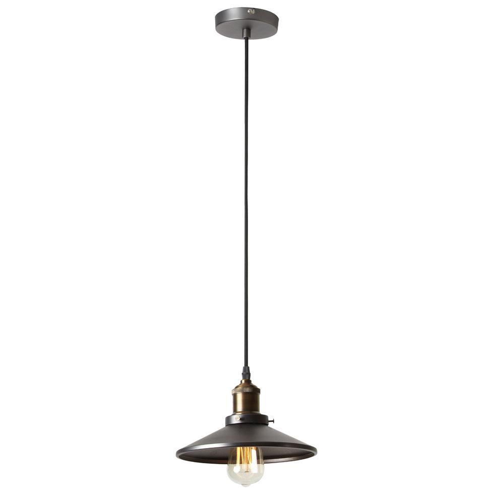 Filament Design 1-Light Vintage Steel Pendant  sc 1 st  Home Depot & Filament Design 1-Light Vintage Steel Pendant-CLI-DN404914 - The ... azcodes.com