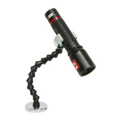 Flexible Flashlight Holder With Magnetic Base