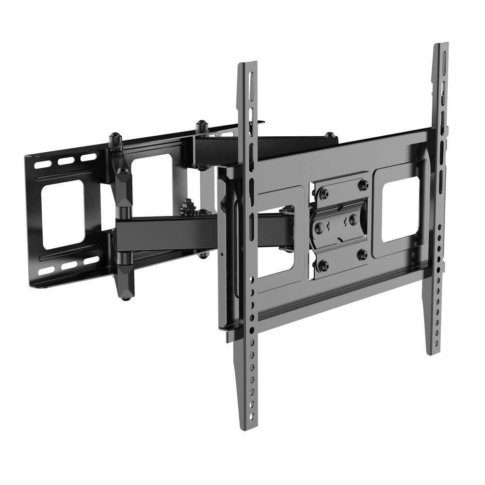Full Motion Swivel Tilt HD 32 in. - 50 in. TV Wall Mount Bracket for Most Including LED/LCD, Black