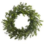 24 in. Eucalyptus Artificial Wreath