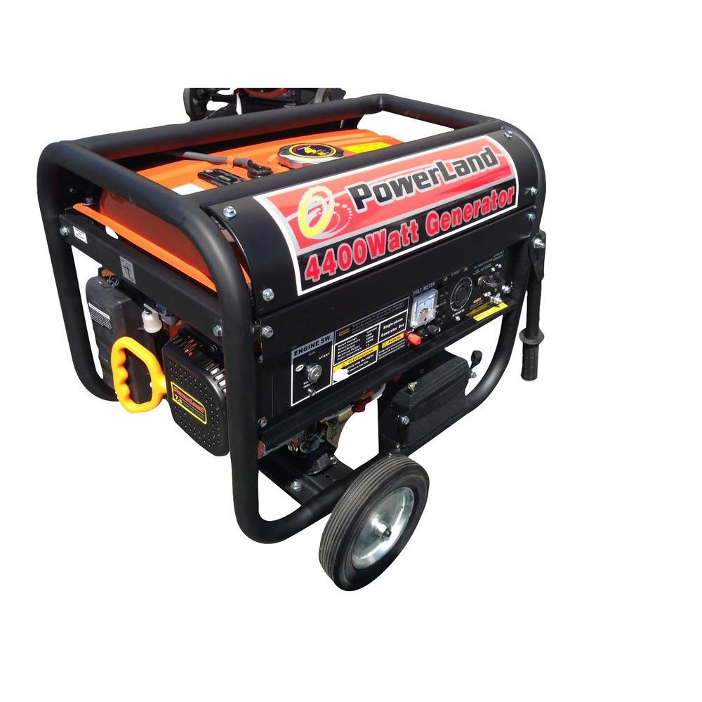 3250-Watt Gasoline Powered Electric Start Portable Generator