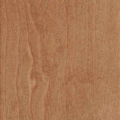 Hand Scraped Cherry Natural 3/8 in. T x 5-3/4 in. W x Varying Length Click Lock Hardwood Flooring (22.68 sq. ft. / case)