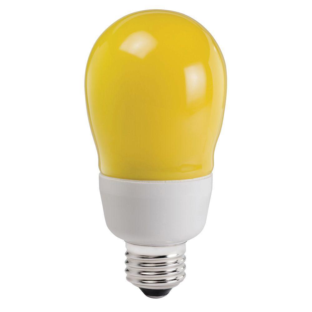 60W Equivalent (2700K) A19 CFL Bug-A-Way Light Bulb
