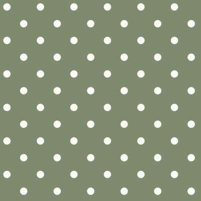 Roll geometric wallpaper decor the home depot dots on dots removable wallpaper voltagebd Image collections