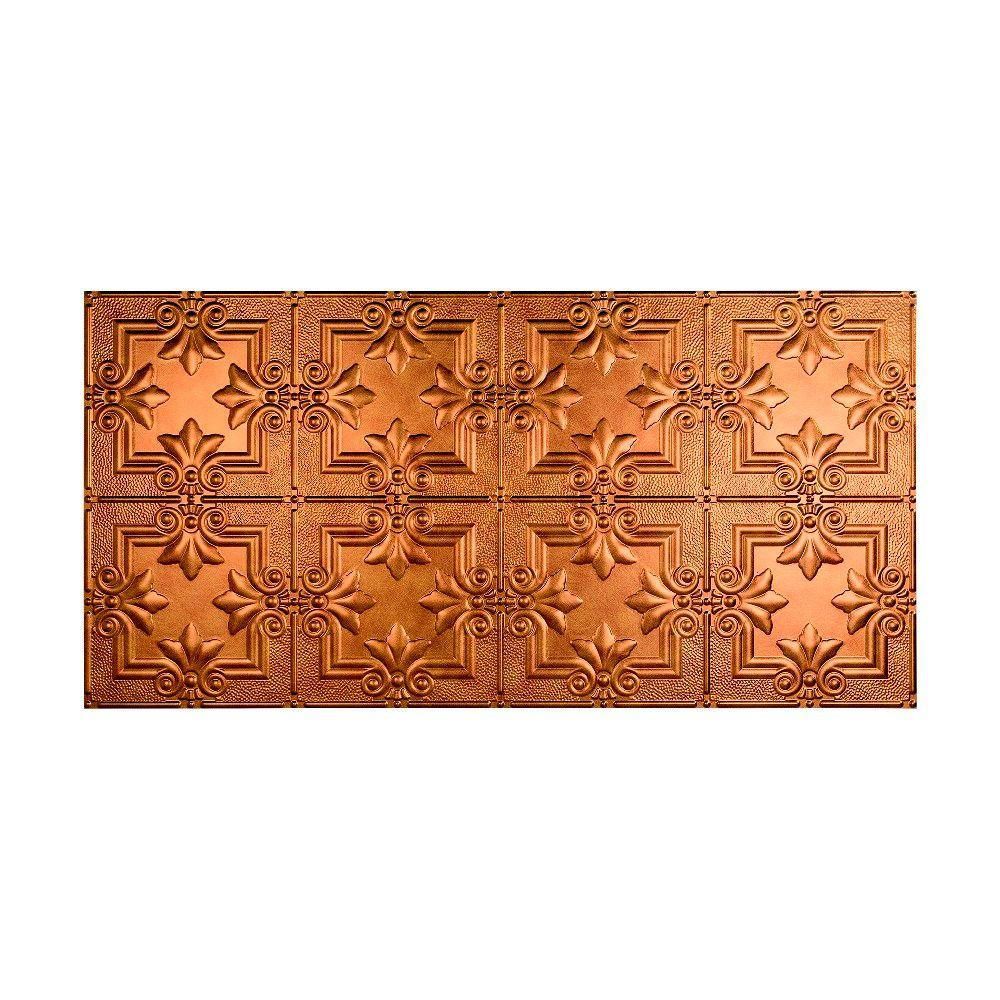 Regalia 2 ft. x 4 ft. Glue-up Ceiling Tile in Antique