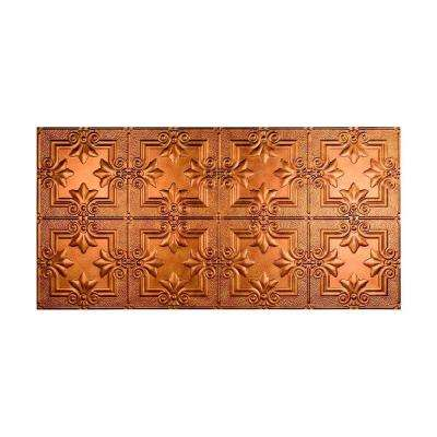 Regalia 2 ft. x 4 ft. Glue-up Ceiling Tile in Antique Bronze