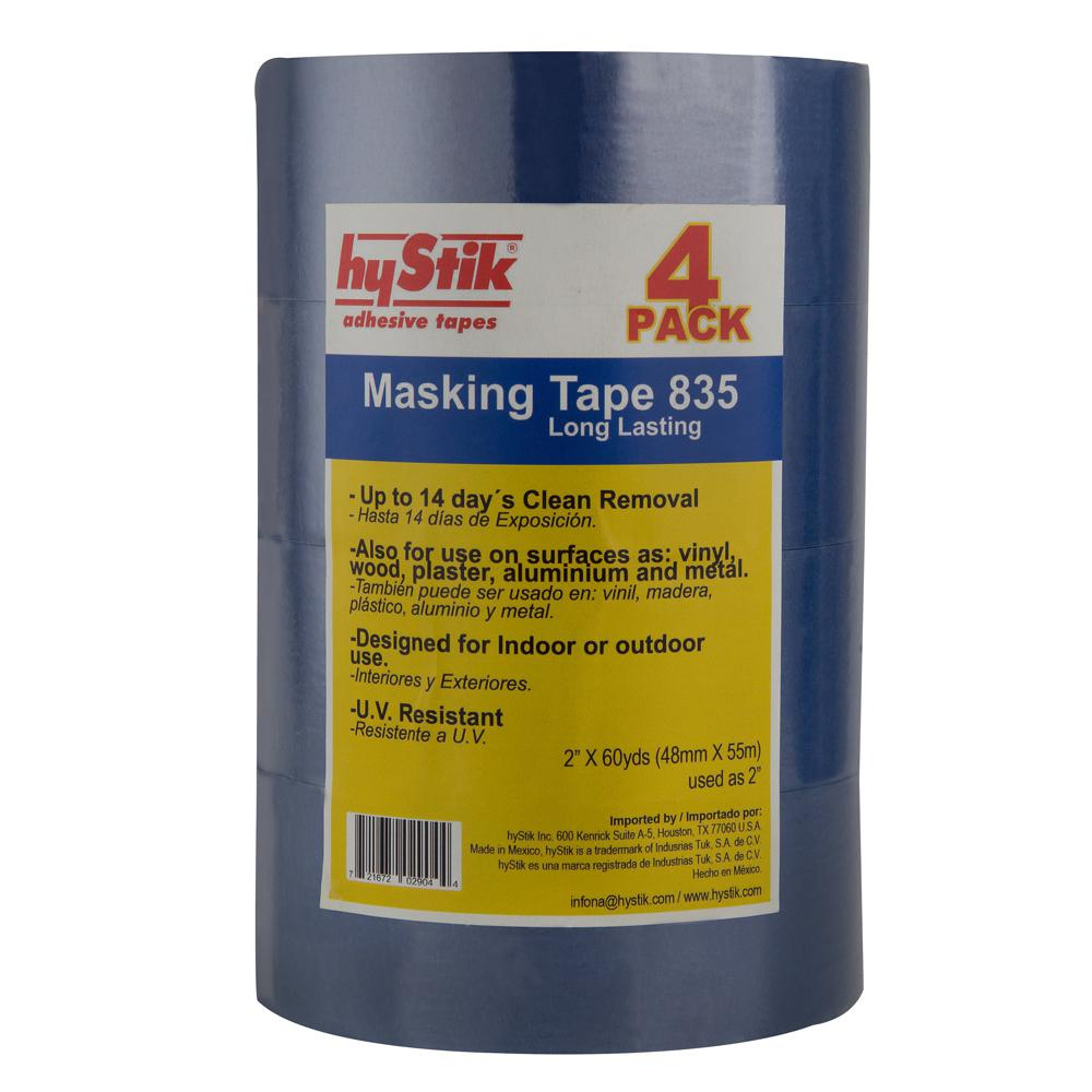 hyStik 835 2 in. x 60 yds. Painter's Tape (4-Pack)