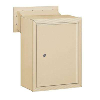 2256 Series Sandstone Receptacle Option for Mail Drop