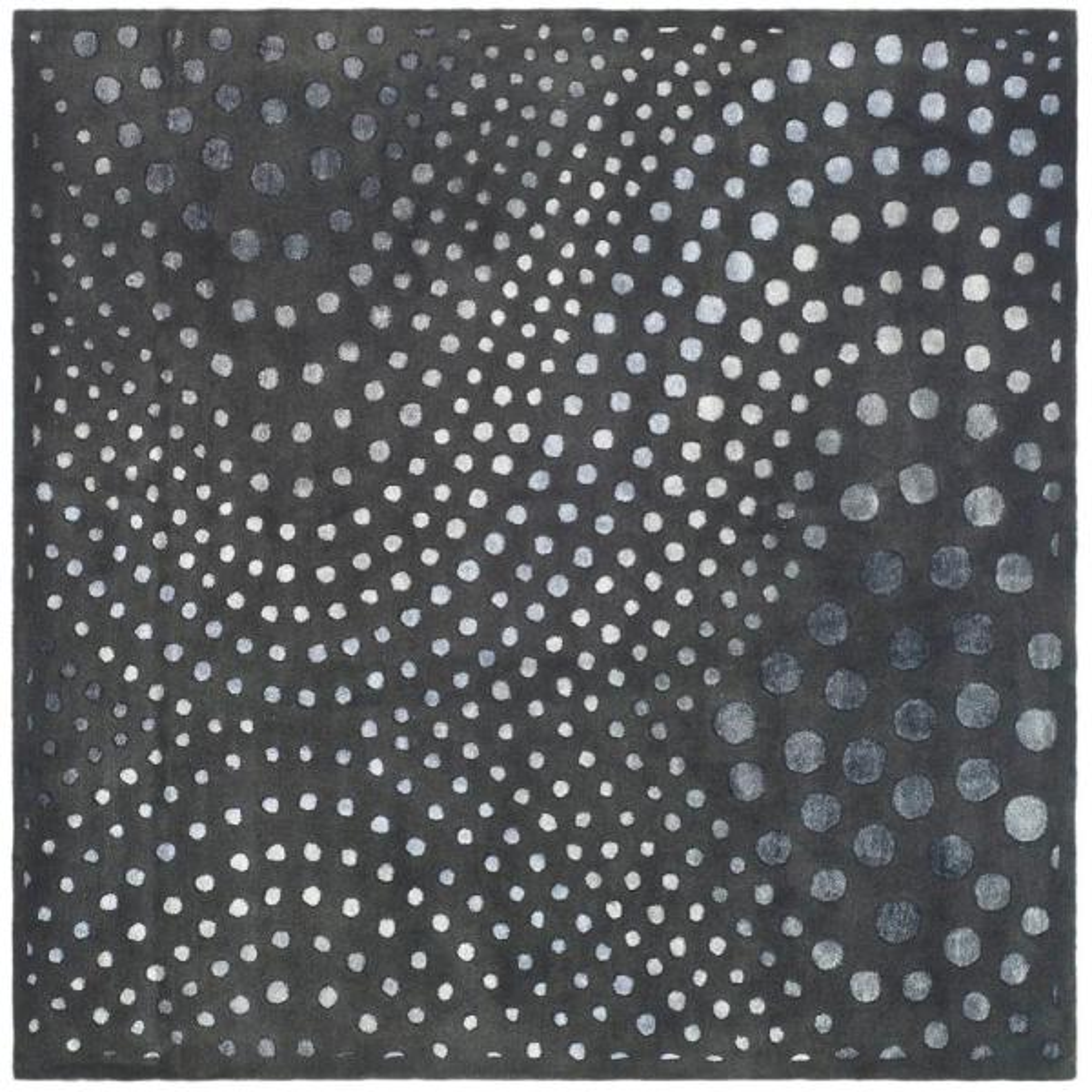 Soho Dark Gray 8 ft. x 8 ft. Square Area Rug