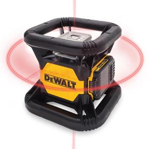 Dewalt 20-Volt MAX Lithium-Ion Red Rotary Tough Red Laser Level with Battery 2Ah, Charger and TSTAK Storage... by DEWALT