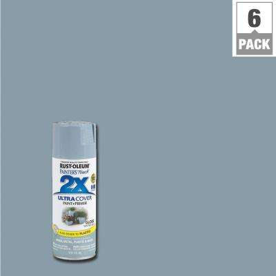 12 oz. Gloss Winter Gray General Purpose Spray Paint (6-Pack)
