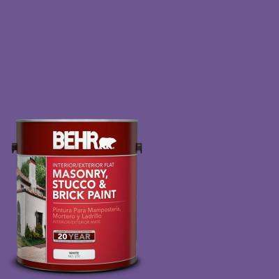 1 gal. #P570-6 Classic Waltz Flat Interior/Exterior Masonry, Stucco and Brick Paint