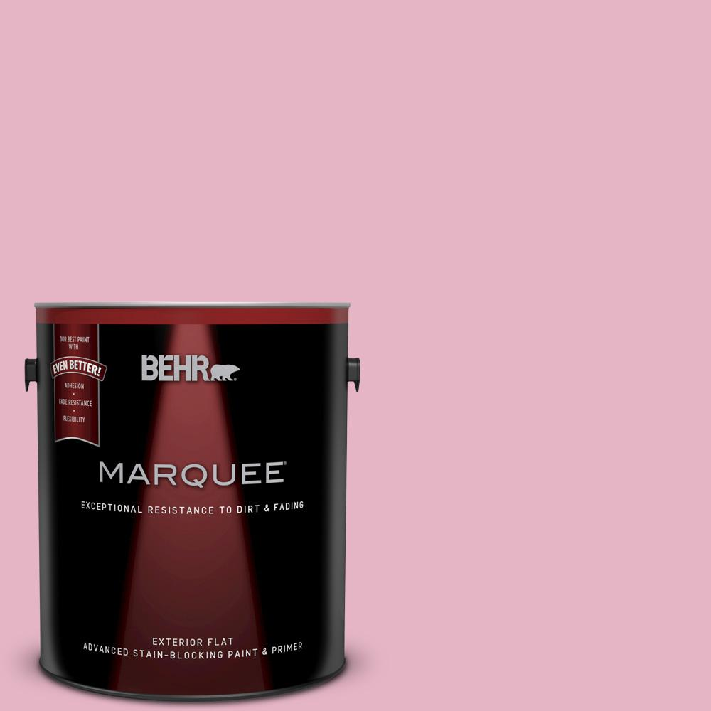 BEHR MARQUEE 1-gal. #T14-15 Minuet Rose Flat Exterior Paint-445401 ...