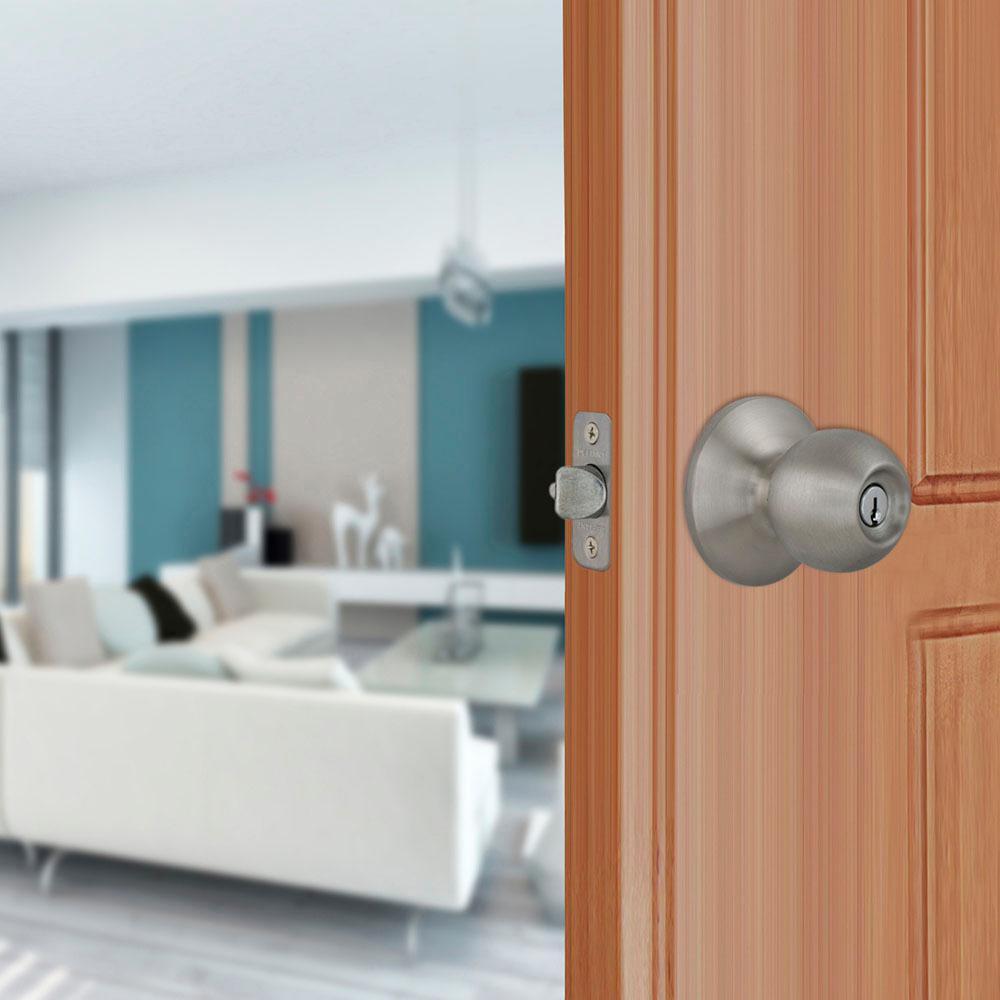 Saturn Stainless Steel Keyed Entry Door Knob