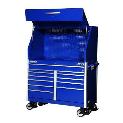 SHD Series 54 in. 12-Drawer Tool Chest and Cabinet Combo in Blue