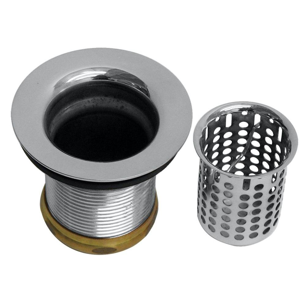 Basket Sink Strainer in Polished Chrome Belle