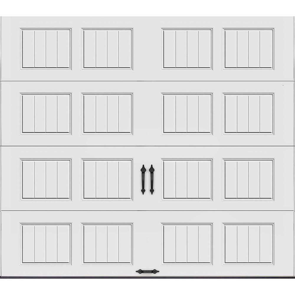 Clopay gallery collection 9 ft x 8 ft 6 5 r value for Clopay garage door colors