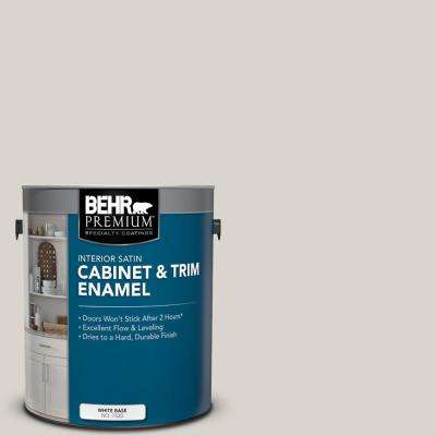 1 gal. #HDC-MD-21 Dove Satin Enamel Interior Cabinet and Trim Paint