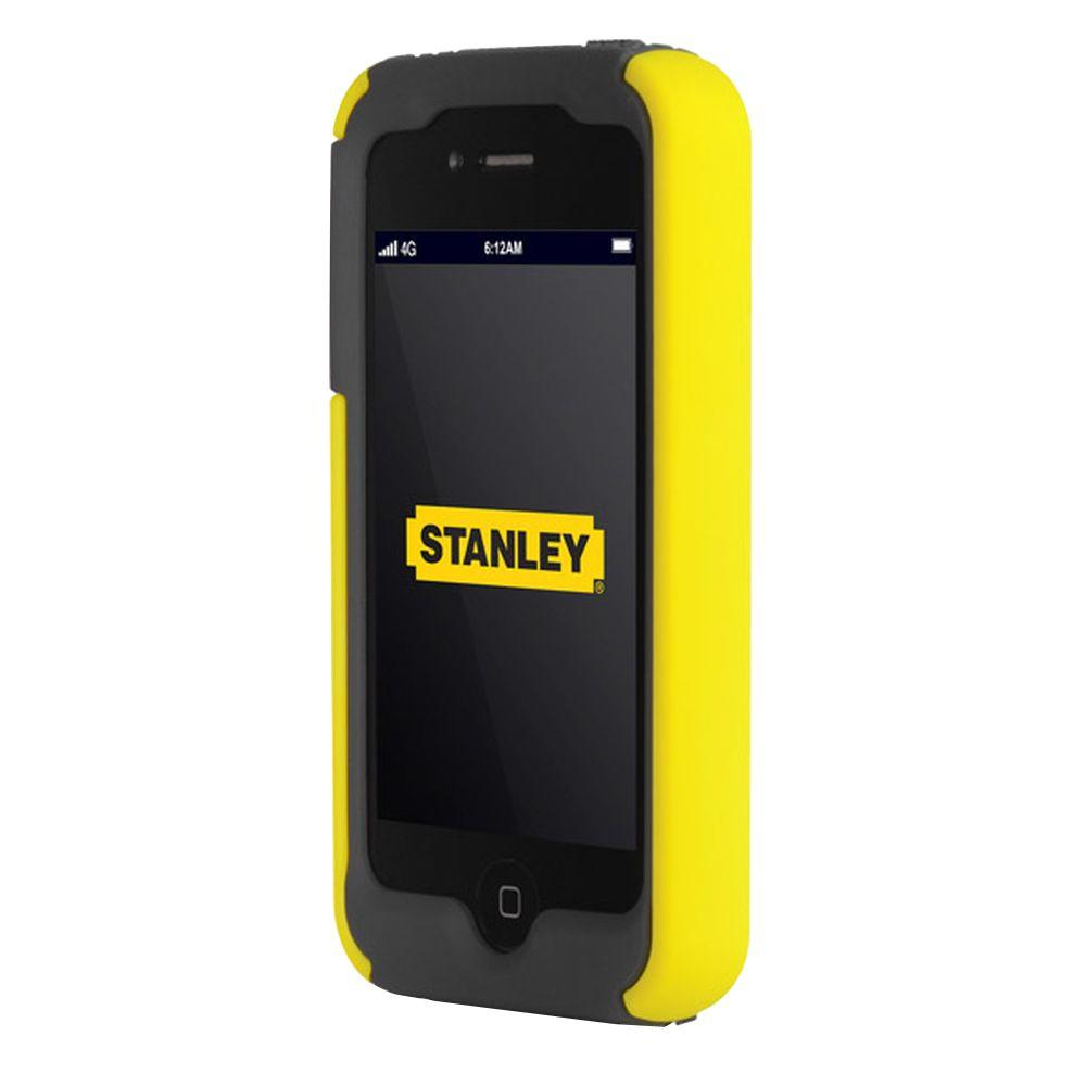 Stanley Highwire Iphone 4 And 4s Rugged 2 Piece Smart Phone Case Black