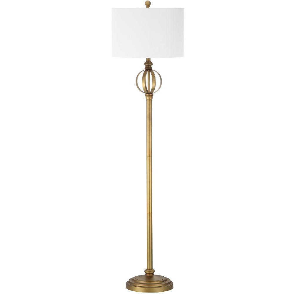 Safavieh Garden 61 5 In Gold Floor Lamp