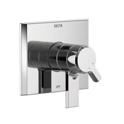 Pivotal 1-Handle Wall-Mount Diverter Trim Kit in Chrome (Valve Not Included)