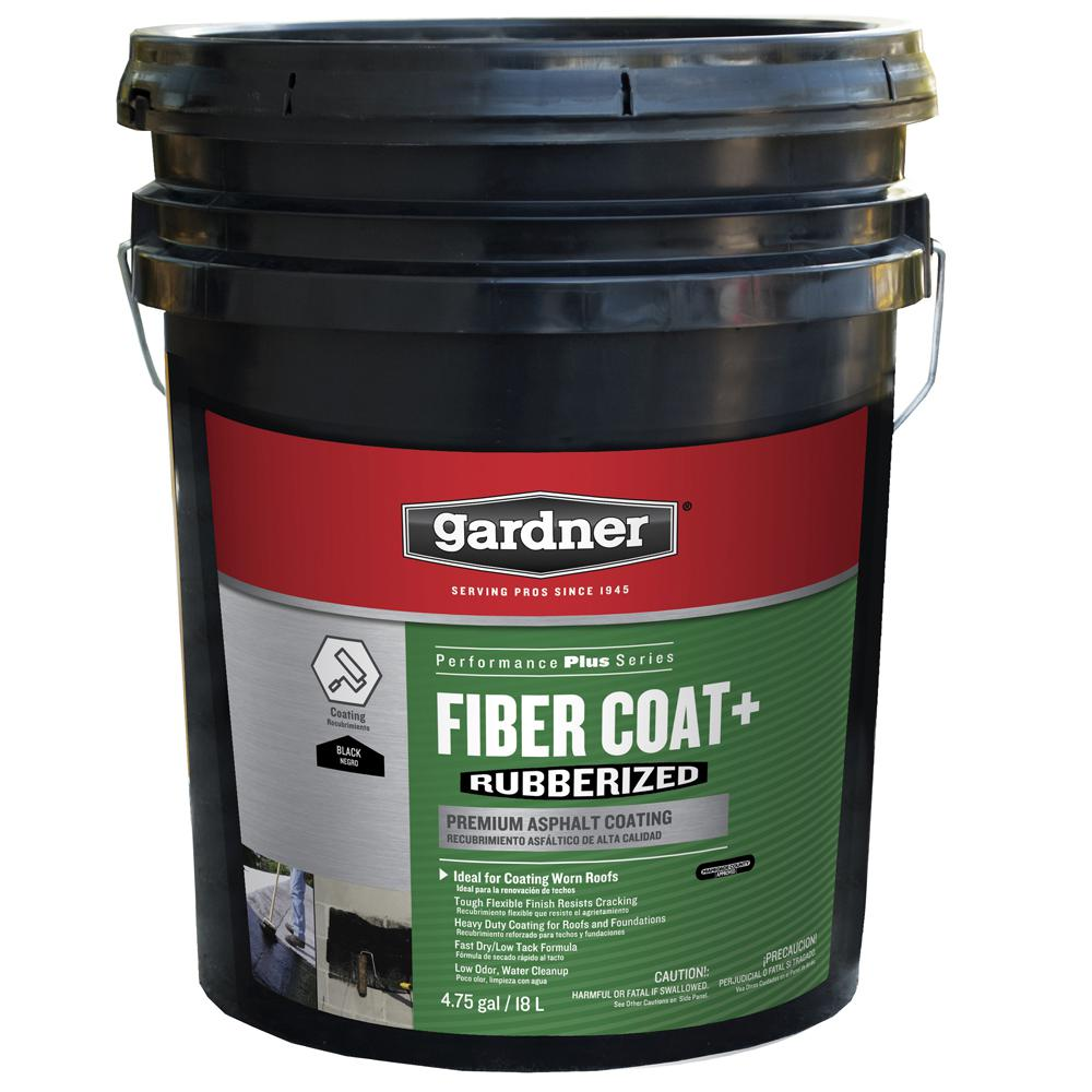 Gardner 608 oz  Fiber Coat Rubberized Roof Coating-0185-GA - The