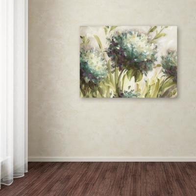 "35 in. x 47 in. ""Hydrangea Field"" by Lisa Audit Printed Canvas Wall Art"