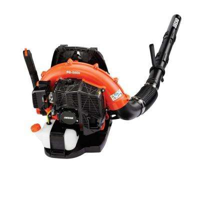215 MPH 510 CFM 58.2 cc Gas 2-Stroke Cycle Backpack Leaf Blower with Hip Throttle