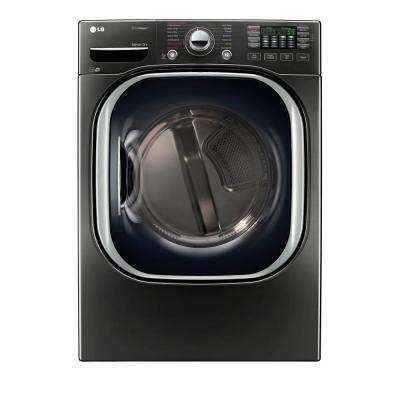 7.4 cu. ft. Gas Dryer with TurboSteam in Black Stainless Steel