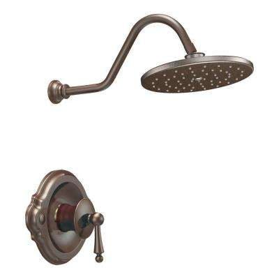 Waterhill Posi-Temp Showering Trim in Oil-Rubbed Bronze (Valve Not Included)